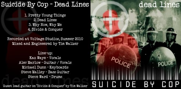 """""""Dead Lines"""" - our debut EP, released July 2010"""